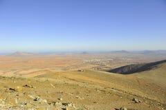 Ansicht über den großartigen Canaria Stockfoto