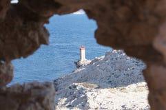 Ansicht über den Leuchtturm Lizenzfreie Stockfotografie