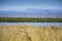 Ansicht über den Nil Lizenzfreie Stockfotos