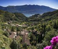 Ansicht über den See Garda lizenzfreies stockfoto