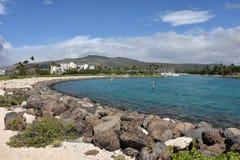 Ansicht über den Strand-Park Ko Olina Stockbilder