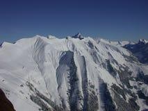 Ansicht über die Alpen Lizenzfreie Stockfotos
