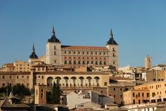 Ansicht über die alte Stadt von Toledo Lizenzfreie Stockfotos
