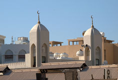 Ansicht über die Dächer von Dubai 1 Lizenzfreies Stockfoto