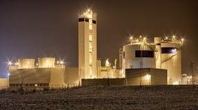 Ansicht über die Fabrik Stockfotografie