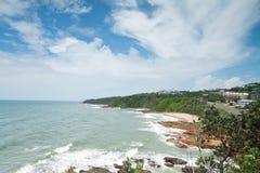 Ansicht über die Küste Lizenzfreie Stockfotos