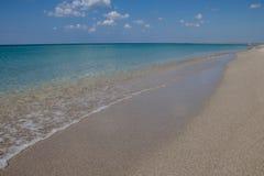 Ansicht über die Krimwestküste des Schwarzen Meers lizenzfreies stockbild