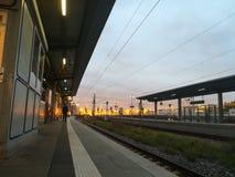Ansicht über die Stadt von Muinch Lizenzfreie Stockfotografie