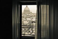 Ansicht über die Vatikanstadt Stockfoto