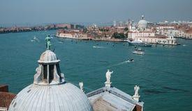 Ansicht über Dorsoduro, Venedig Lizenzfreie Stockfotos