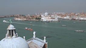 Ansicht über Dorsoduro, Venedig stock footage