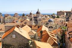 Ansicht über Dubrovnik, Kroatien Lizenzfreies Stockfoto