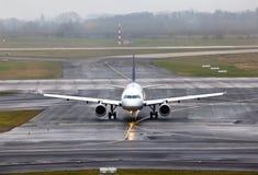 Ansicht über ein Flugzeug Lizenzfreie Stockfotos