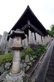 Ansicht über einen der Tempel in Nara, Japan Lizenzfreies Stockbild