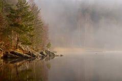 Ansicht über einen See, Schweden Lizenzfreies Stockfoto