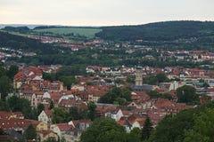 Ansicht über Eisenach Stockfotografie