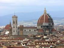 Ansicht über Florenz. Lizenzfreie Stockfotografie