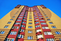 Ansicht über Gebäude Stockbild