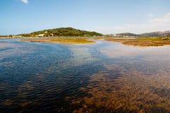 Ansicht über Groot Brak Feuchtgebiete Lizenzfreies Stockbild