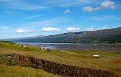 Ansicht über Hallormsstadur Hügel, Island Stockfotos