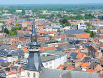 Ansicht über Hasselt, Belgien Lizenzfreie Stockfotografie