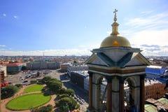 Ansicht über Heilig-Isaac-` s Quadrat Lizenzfreies Stockbild