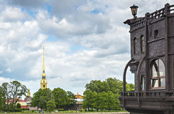 Ansicht über historische Mitte von Sankt Petersburg, Lizenzfreie Stockfotografie
