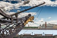 Ansicht über historische Mitte von Sankt Petersburg, Russland Stockfotos