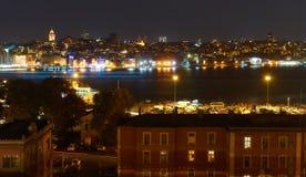 Ansicht über Istanbul stockfotos