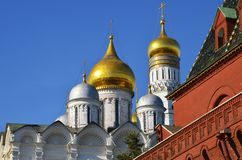 Ansicht über Iwan der große Glockenturm stockfotos