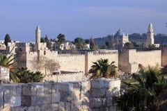Ansicht über Jerusalem Lizenzfreie Stockfotografie