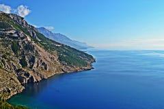Ansicht über Küste Lizenzfreies Stockfoto