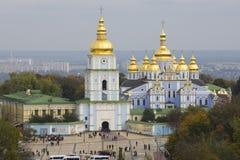 Ansicht über Kloster in Kiew Lizenzfreie Stockfotografie