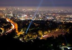 Ansicht über LA Stockfoto