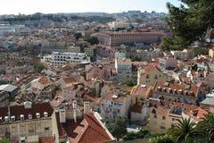 Ansicht über Lissabon Lizenzfreie Stockbilder