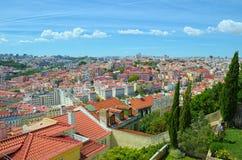 Ansicht über Lissabon Stockfotos