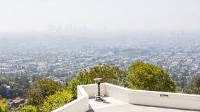 Ansicht über Los Angeles lizenzfreies stockfoto