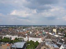 Ansicht über Maastricht Stockbild