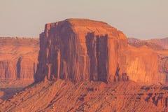 Ansicht über Merrick Butte im Monument-Tal, Arizona Lizenzfreies Stockfoto