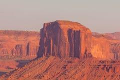 Ansicht über Merrick Butte im Monument-Tal, Arizona Lizenzfreie Stockfotos