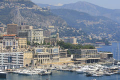 Ansicht über Monaco Stockbild