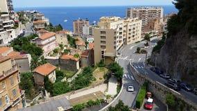 Ansicht über Monaco Stockbilder
