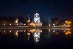 Ansicht über Museumszustand Ostankino in Moskau Stockfoto