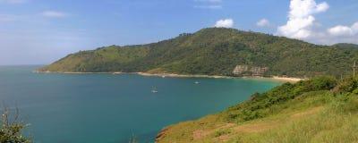 Ansicht über nördlichen Teil von Phuke stockbilder