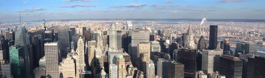 Ansicht über New York Stockfotografie
