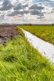 Ansicht über niederländische Landschaft Lizenzfreie Stockfotografie
