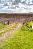Ansicht über niederländische Landschaft Lizenzfreies Stockfoto
