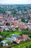 Ansicht über Offenburg, Deutschland Lizenzfreies Stockbild