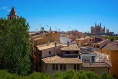 Ansicht über Palma de Mallorca Lizenzfreie Stockbilder