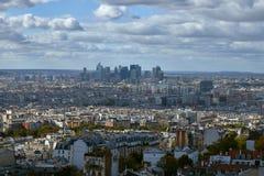 Ansicht über Paris, Frankreich lizenzfreie stockfotos